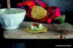 La Cocina de las Casinas: Tortillas de Maíz, Guacamole, Cherrys Confitados y Queso Azul