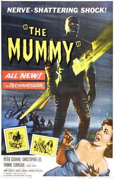 """Hoy Lunes, 21:00, cine ciclo Christopher Lee:  """"LA MOMIA"""" (1959)"""
