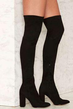 Siren Pia Over-the-Knee Suede Boot