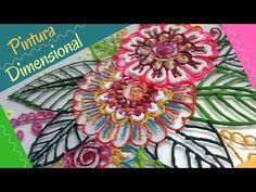 Como Espesar Pintura Acrílica para usarla como Dimensional - YouTube Decoupage, General Crafts, Diy Recycle, Easy Diy Crafts, Cold Porcelain, Texture Painting, Art Techniques, Diy Painting, Art Decor