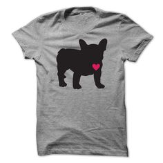 Frenchie Love - #tshirt art #tshirt frases. GET YOURS => https://www.sunfrog.com/Pets/Frenchie-Love-ladies.html?68278