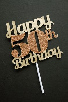 Hey, I found this really awesome Etsy listing at https://www.etsy.com/listing/191289155/gold-birthday-age-cake-topper-birthday