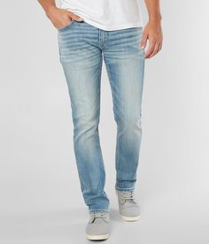 BKE Carter Straight Stretch Jean - Men's Jeans in Tonto Boys Jeans, Jeans Fit, Fly Shoes, Stretch Jeans, Slim, How To Wear, Clothes, Washed Denim, Kleding