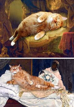 mikapoka: art Caturday all artworks © by Svetlana Petrova/Fat Cat Art