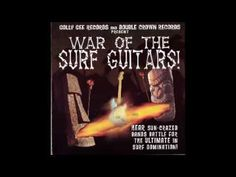 Various – ''War Of The Surf Guitars'' Instro Instrumental Bands Rock Fu...
