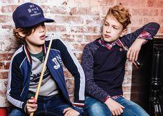 Get the Look jongens kleding: De nieuwe collecties met toffe jongenskleding zijn binnen. Het the Look Boys! Het belooft weer een spannend seizoen te worden