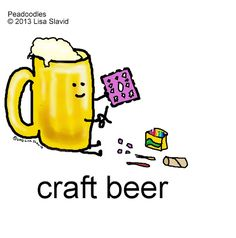 It's international beer day! The craft is strong with this one #peadoodles…