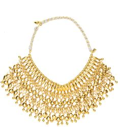 Aurelie Bidermann Beaded Heart Necklace on shopstyle.com