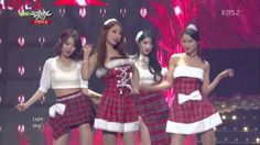 [HD 720p] 131220 Nine Muses - Santa Baby (Christmas Special Stage)