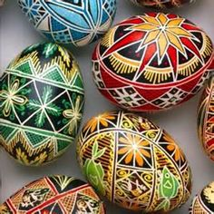 Pretty Challenging, But Worth It...Ukrainian Easter Eggs