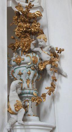 Вискирхе (Wieskirche): буйство баварского рококо - Орнамент и стиль в ДПИ