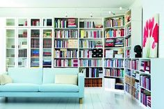 billy bookcase ideas | Una biblioteca a medida | Decorar tu casa es facilisimo.com