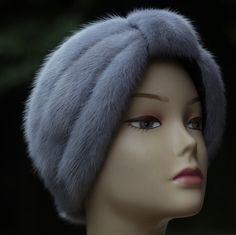 Winter Hats. Women's real fur Headband Fur Headwrap by 2UBEAUTY