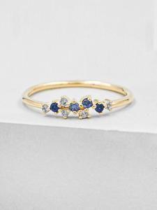 Cute Promise Rings, Cute Rings, Pretty Rings, Vintage Promise Rings, Simple Gold Rings, Dainty Gold Rings, Gold Plated Rings, Delicate Rings, Aquamarine Rings