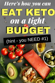 How to Eat Keto on a Budget - You don't have to stop eating keto just because you think it's too expensive!