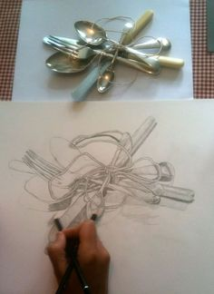 A list of still life ideas for teachers and Art students. The collection includes old favourites, as well as more unusual still life topics.
