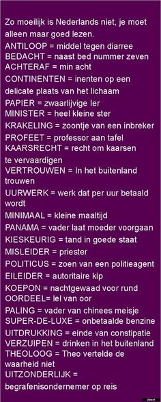 Woordenlijst in Brabant Funny Picture Quotes, Funny Quotes, Funny Pictures, Dutch Quotes, Lol, One Liner, Have A Laugh, Funny Pins, Funny Texts
