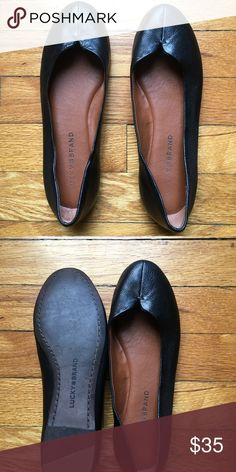 0599ece17233b1 Women s Lucky Brand flats These super cute flats are in great condition!  They show a few signs of wear but still have a lot of life left.