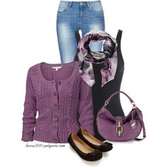 Pansy Purple, created by becca2690 on Polyvore