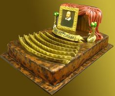 """""""A Shakespearean Experience"""" Shakespeare Theatre Cake Cupcake Cookies, Cupcakes, Shakespeare Theatre, Food Artists, Sweets Cake, Occasion Cakes, Round Cakes, Decorated Cakes, Pretty Cakes"""