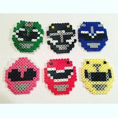 Power Rangers perler beads by 13perlerbeads …