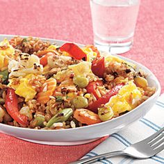 9 Easy 15 Minute Recipes For A Healthy Dinner - Recipe Recommendations Vegetable Fried Rice