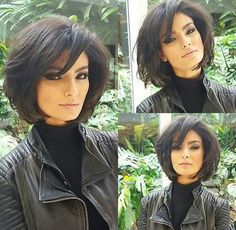 "hair_beauty- ""Short Bob Haircuts for Thick Hair"", ""Good-Choise Short Haircuts with Bangs - New Medium Hairstyles"", ""Bob haircut is one of Pony Hairstyles, Short Bob Hairstyles, Hairstyle Short, Over 40 Hairstyles, Popular Short Hairstyles, Ladies Hairstyles, Beach Hairstyles, Bandana Hairstyles, School Hairstyles"