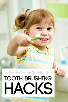 Healthy teeth in kids is easier than you might think! These tips worked AMAZING for our kids!