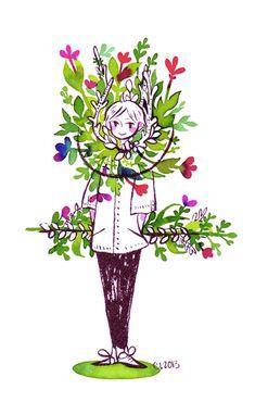Ikebana by koyamori.deviantart.com on @deviantART