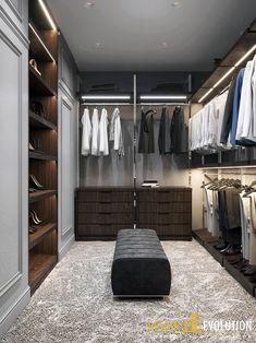 Closets clássicos por Design Evolution