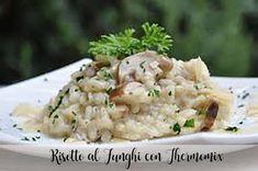 Risotto al Funghi con Thermomix Paella, Potato Salad, Cooking, Ethnic Recipes, Food, Deserts, Meals, Best Recipes, Eten