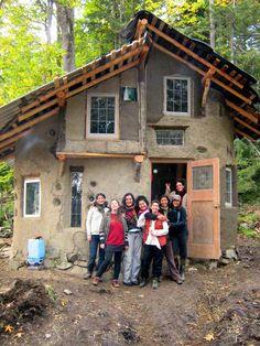 Mudgirls Collective natural home construction - cob  Molly Murphy- BFF gr. 2? Keatsway Public School