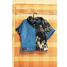 Size M : LD96 Size L : LD 104 IDR 165.000 . .  #atasantenun #blustenun #tenunjepara #gerimislurik #udahliris #handwoventop #blouse #womanblouse