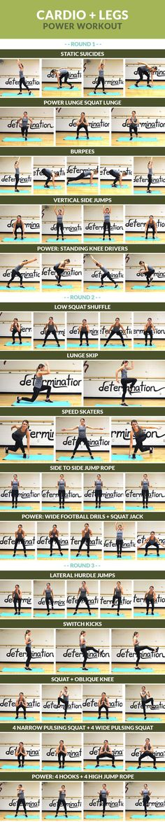 Get your sweat on while shaping your lower body!
