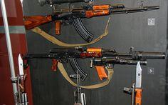 AKM - Wikipedia, the free encyclopedia Ak 74, Night Sights, Assault Rifle, Guns And Ammo, Archery, Firearms, Ukraine, Weapons, Military