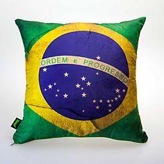 iBacana.com.br | Almofada Bandeira Brasil