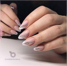 Cute Nail Art Designs Ideas for Stylish Girls - Page 20 of 20 - nägel - Unhas Elegant Nail Designs, Cute Nail Art Designs, Elegant Nails, French Nails, Cute Nails, Pretty Nails, Hair And Nails, My Nails, Nail Manicure