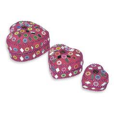 small jewelry gift box, pink jewelry box