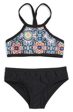 Seafolly 'Gypsea' Two-Piece Swimsuit (Big Girls)