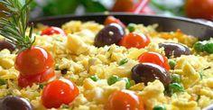 Receita de arroz de bacalhau à portuguesa - Caderneta de Receitas