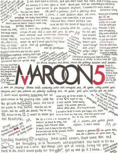 Maroon 5 lyrics