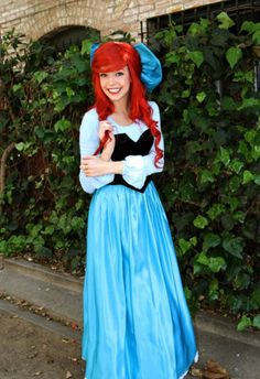 Ariel Kiss the Girl dress cosplay