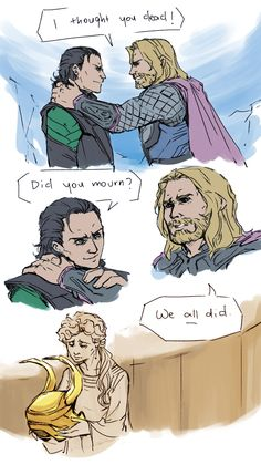 Loki was awesome. Until he became evil. Then he got more awesome. But it was his awesome against the Avengers' awesome. Somehow, he didn't get the fact that he was doomed from the start.
