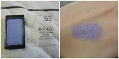 Artdeco Eyeshadow 83 - Swatches And Review