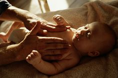 Infant massage for preemie and NICU babies. Learn the benefits and tips to benefit your little one!