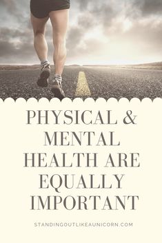 Physical and Mental Health Are Equally Important Health And Wellness, Mental Health, Move Your Body, Anorexia, The Hard Way, Healthy Mind, Physical Fitness, Human Body, Equality