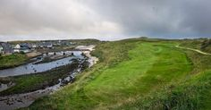 One of the coolest holes in Scotland the 4th at Cruden Bay #linksgolf #travelscotland #golfporn #scottishgolfpodcast #golftravel