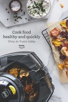 Healthy and quick to make food is made easy with our air fryer products.