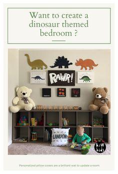 Little Boy Bedroom Ideas, Big Boy Bedrooms, Boys Bedroom Decor, Baby Boy Rooms, Little Boys Rooms, Nursery Decor, Boys Dinosaur Bedroom, Dinosaur Kids Room, Dinosaur Room Decor
