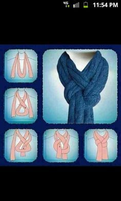 Oblong scarf idea - use for travel wardrobe